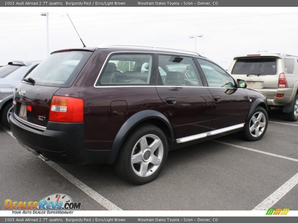 burgundy red 2003 audi allroad 2 7t quattro photo 2. Black Bedroom Furniture Sets. Home Design Ideas