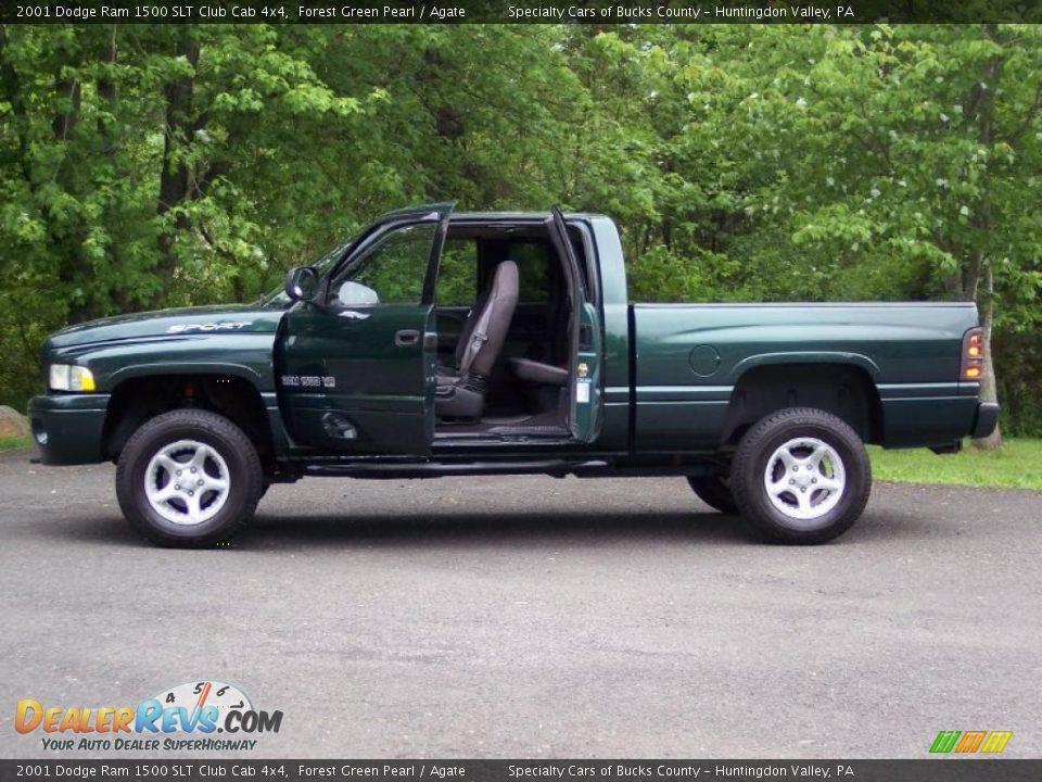 2001 dodge ram 1500 slt club cab 4x4 forest green pearl. Black Bedroom Furniture Sets. Home Design Ideas