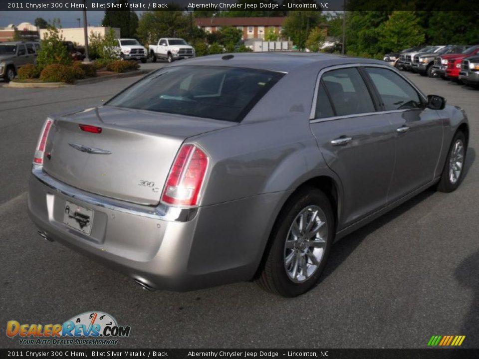 2011 Chrysler 300 C Hemi Billet Silver Metallic Black