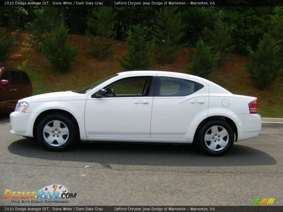2010 dodge avenger sxt stone white dark slate gray photo. Black Bedroom Furniture Sets. Home Design Ideas