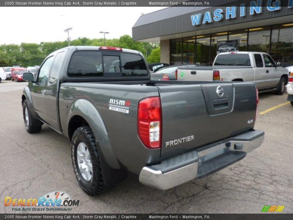 2005 nissan frontier nismo king cab 4x4 storm gray. Black Bedroom Furniture Sets. Home Design Ideas