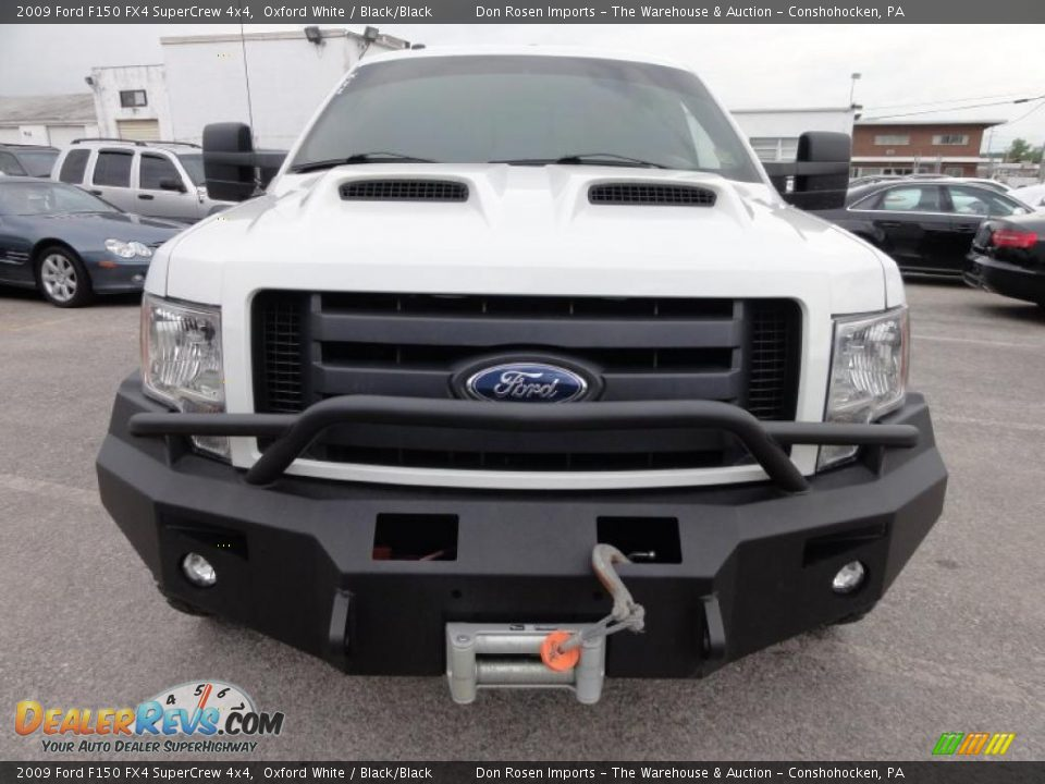 oxford white 2009 ford f150 fx4 supercrew 4x4 photo 3. Black Bedroom Furniture Sets. Home Design Ideas