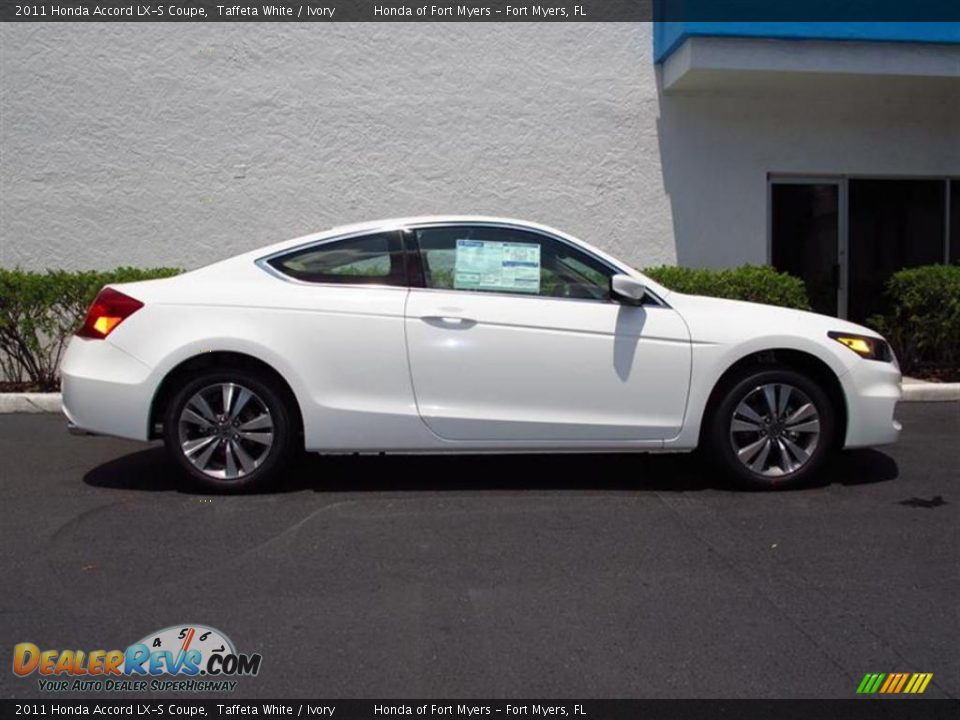 Taffeta White 2011 Honda Accord Lx S Coupe Photo 2
