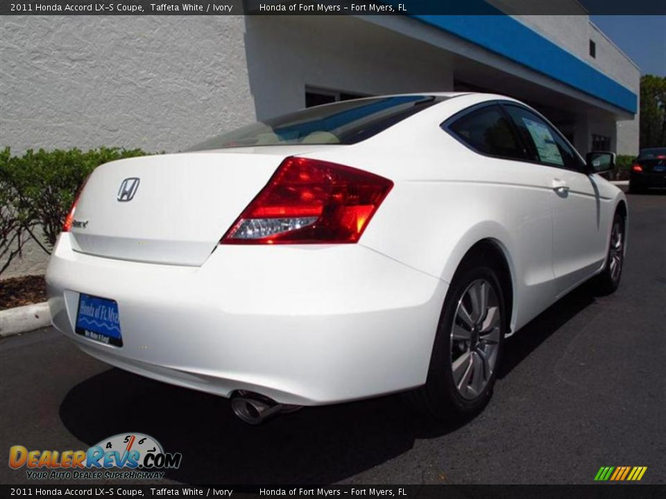 2011 honda accord lx s coupe taffeta white ivory photo