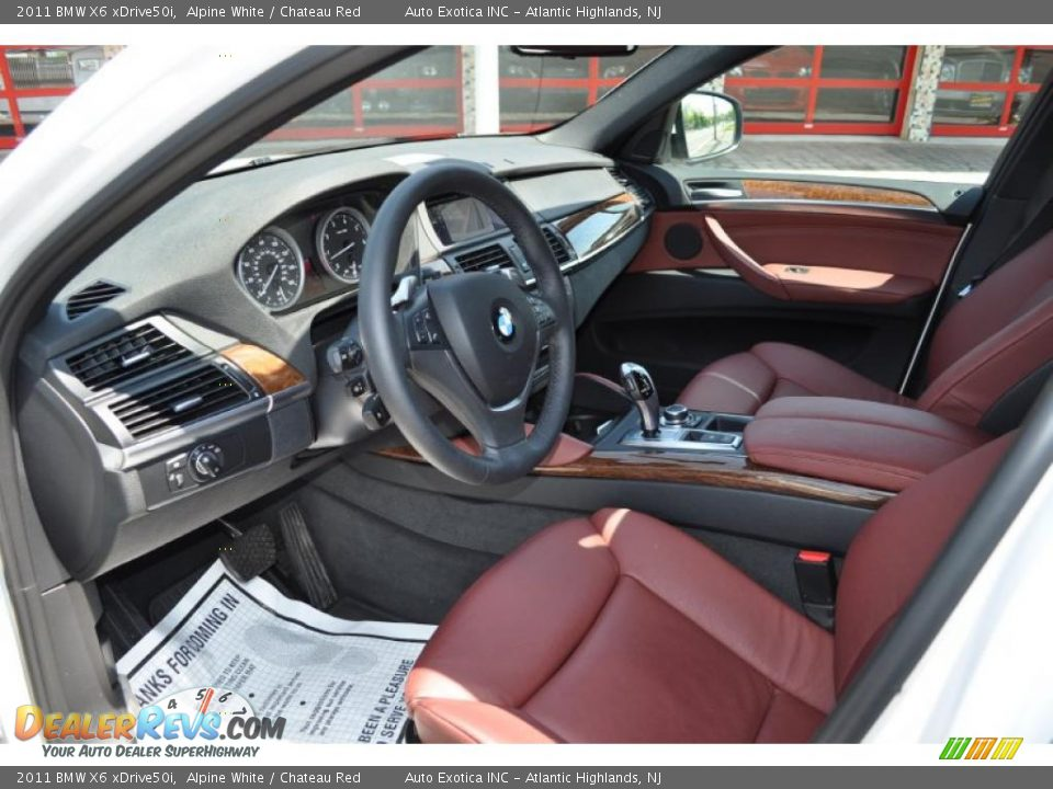 Bmw Red Interior Red Interior 2011 Bmw x6