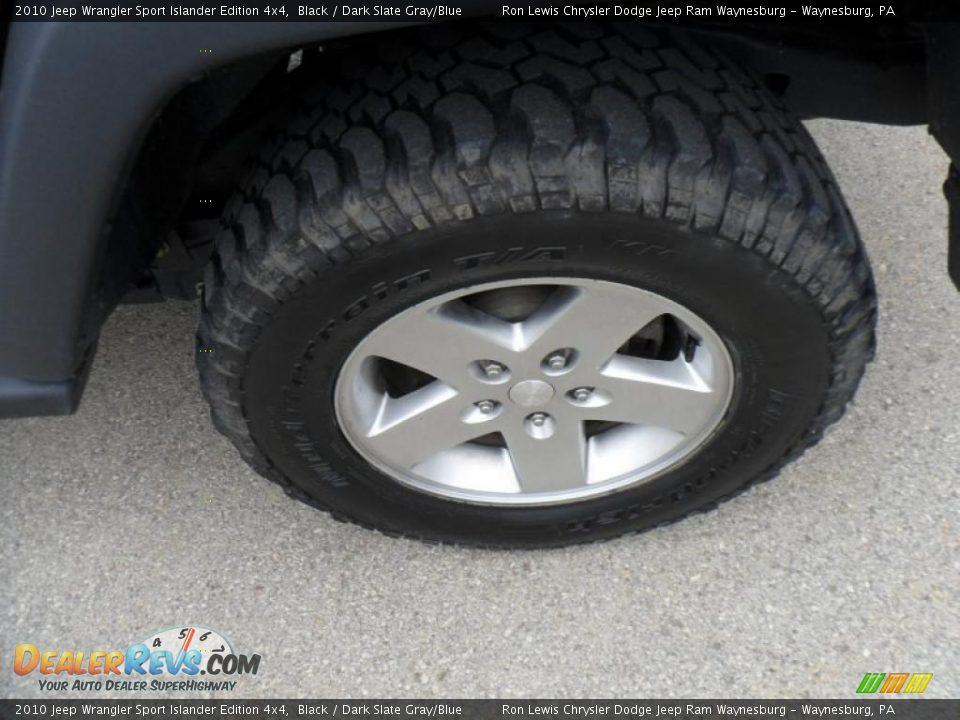 2010 Jeep Wrangler Sport Islander Edition 4x4 Black Dark Slate Gray Blue Photo 15