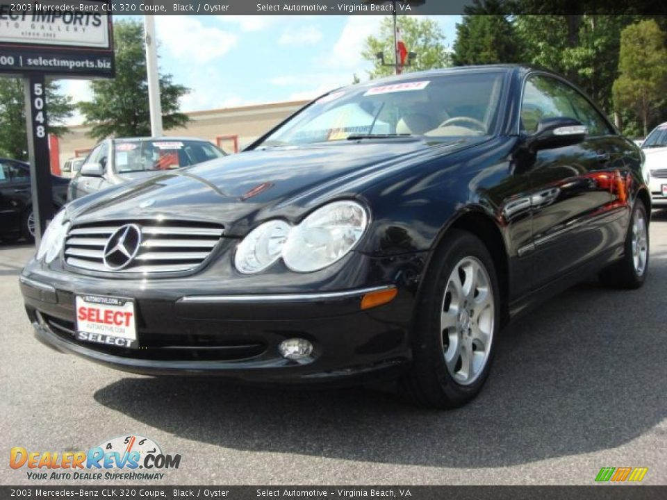 2003 mercedes benz clk 320 coupe black oyster photo 1 for 2003 mercedes benz clk 320