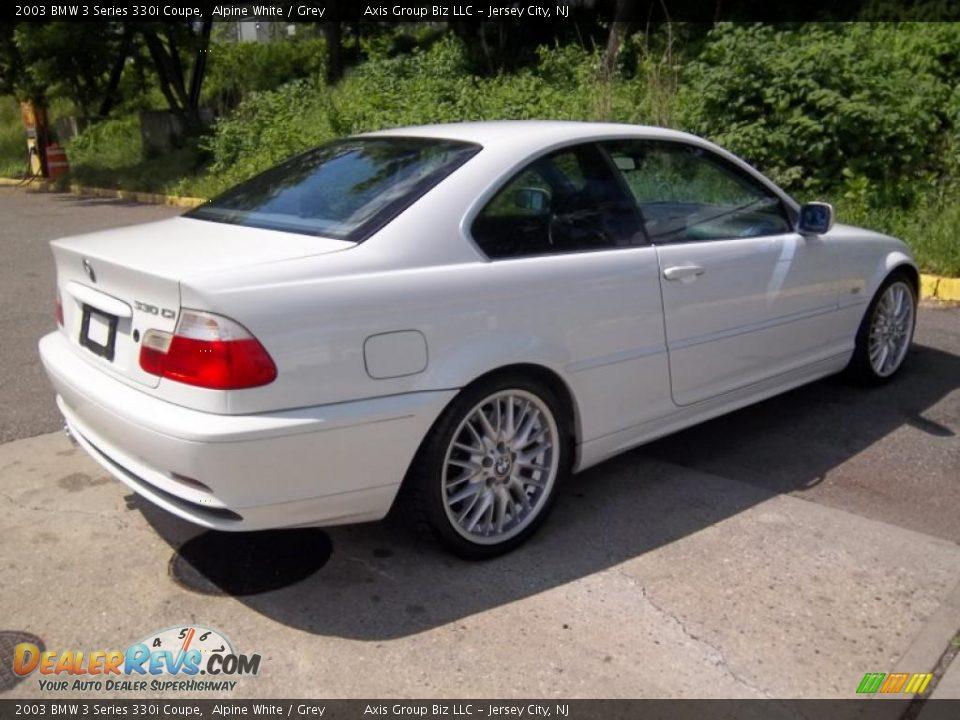 2003 BMW 3 Series 330i Coupe Alpine White Grey Photo 5