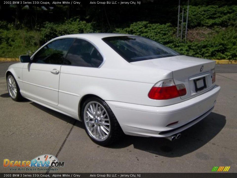 Alpine White 2003 BMW 3 Series 330i Coupe Photo 6