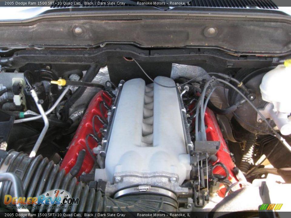 2005 dodge ram 1500 srt 10 quad cab 8 3 liter srt ohv 20 valve v10 engine photo 4. Black Bedroom Furniture Sets. Home Design Ideas