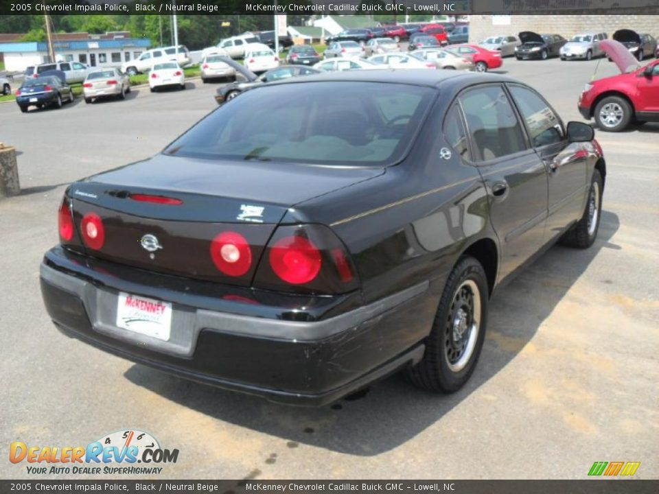 2005 chevrolet impala police black neutral beige photo. Black Bedroom Furniture Sets. Home Design Ideas