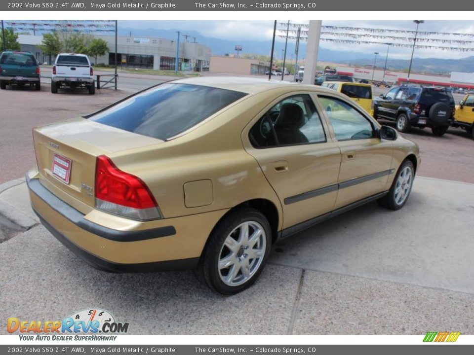 2002 volvo s60 2 4t awd maya gold metallic graphite. Black Bedroom Furniture Sets. Home Design Ideas