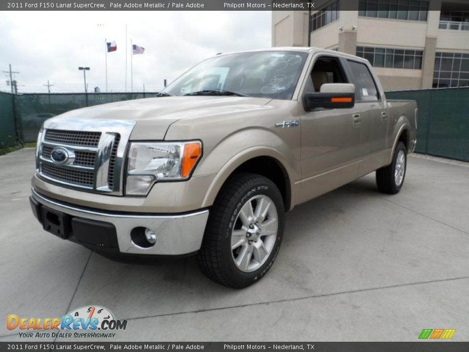 2011 ford f150 lariat supercrew pale adobe metallic pale adobe photo 7 dealerrevs