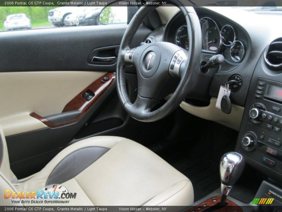 2006 Pontiac G6 Gtp >> Light Taupe Interior - 2006 Pontiac G6 GTP Coupe Photo #4 ...