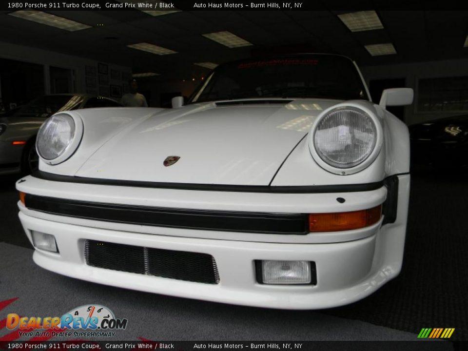 1980 porsche 911 turbo coupe grand prix white black photo 6. Black Bedroom Furniture Sets. Home Design Ideas