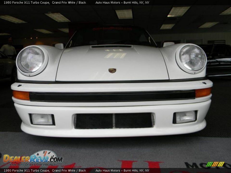 1980 porsche 911 turbo coupe grand prix white black photo 7. Black Bedroom Furniture Sets. Home Design Ideas