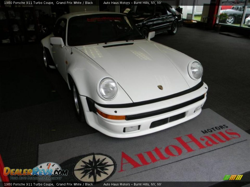 1980 porsche 911 turbo coupe grand prix white black photo 8. Black Bedroom Furniture Sets. Home Design Ideas