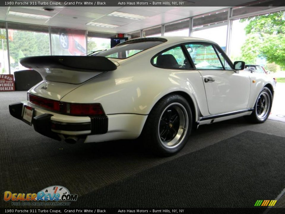 grand prix white 1980 porsche 911 turbo coupe photo 14. Black Bedroom Furniture Sets. Home Design Ideas