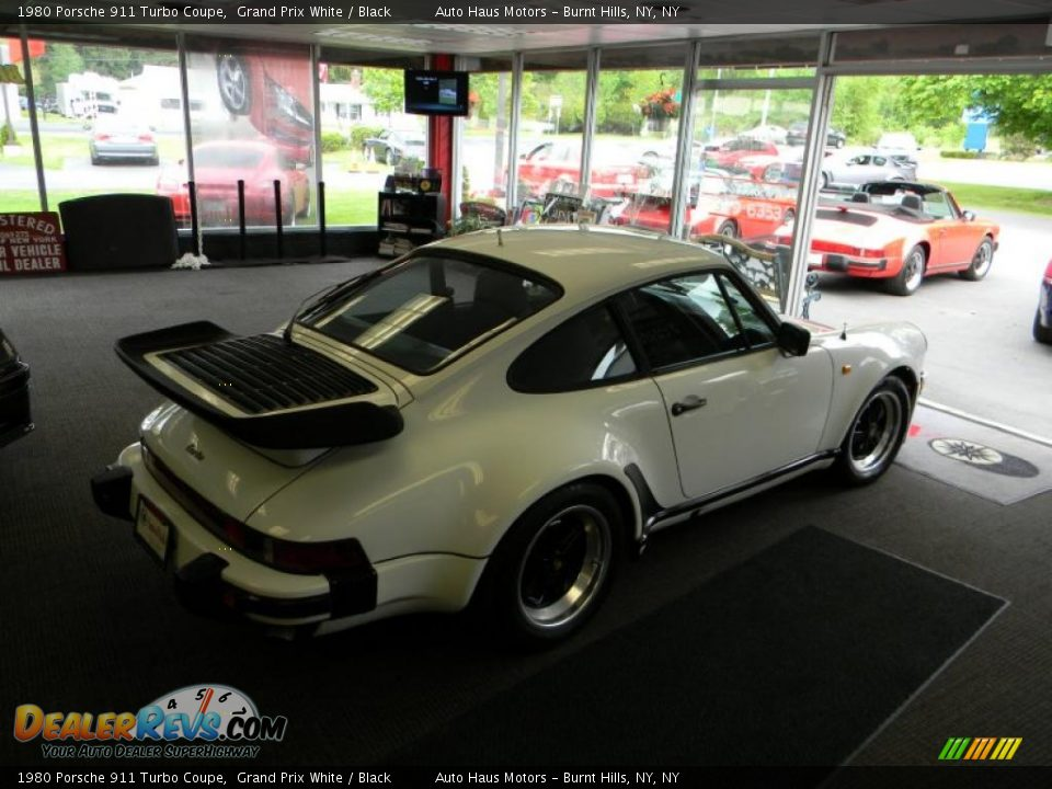 1980 porsche 911 turbo coupe grand prix white black photo 16. Black Bedroom Furniture Sets. Home Design Ideas
