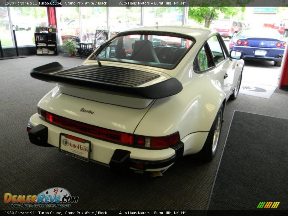 1980 porsche 911 turbo coupe grand prix white black photo 17. Black Bedroom Furniture Sets. Home Design Ideas