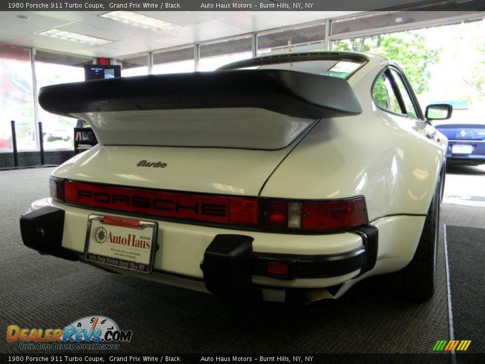 1980 porsche 911 turbo coupe grand prix white black photo 18. Black Bedroom Furniture Sets. Home Design Ideas