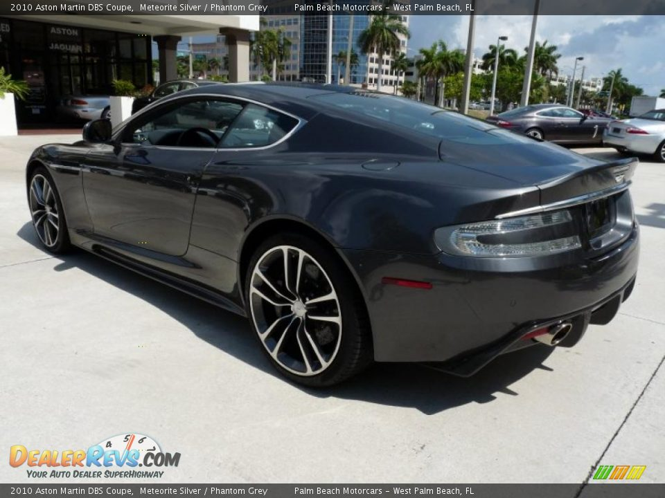 Meteorite Silver 2010 Aston Martin Dbs Coupe Photo 5