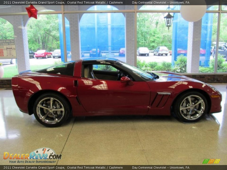 crystal red tintcoat metallic 2011 chevrolet corvette grand sport coupe photo 1. Black Bedroom Furniture Sets. Home Design Ideas