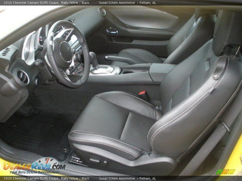 Black Interior - 2010 Chevrolet Camaro SS/RS Coupe Photo #13 | DealerRevs.com