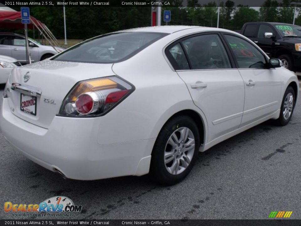 2011 Nissan Altima 2 5 Sl Winter Frost White Charcoal