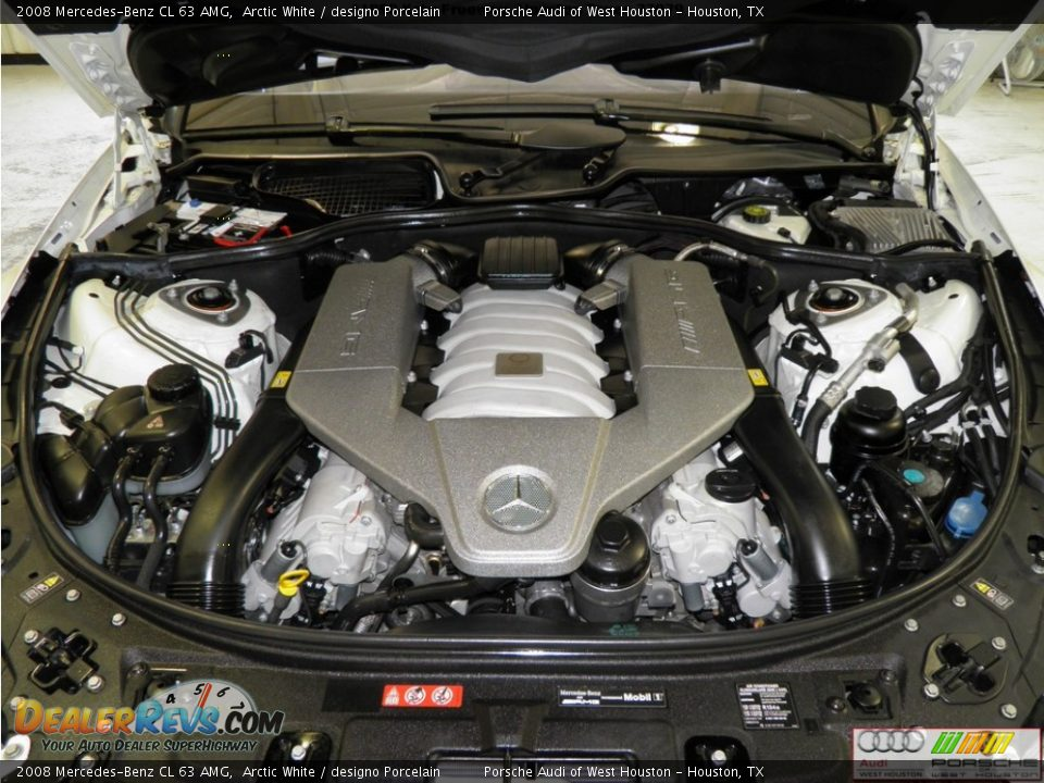 2008 mercedes benz cl 63 amg 6 3 liter amg dohc 32 valve for Mercedes benz amg 6 3 liter v8 price