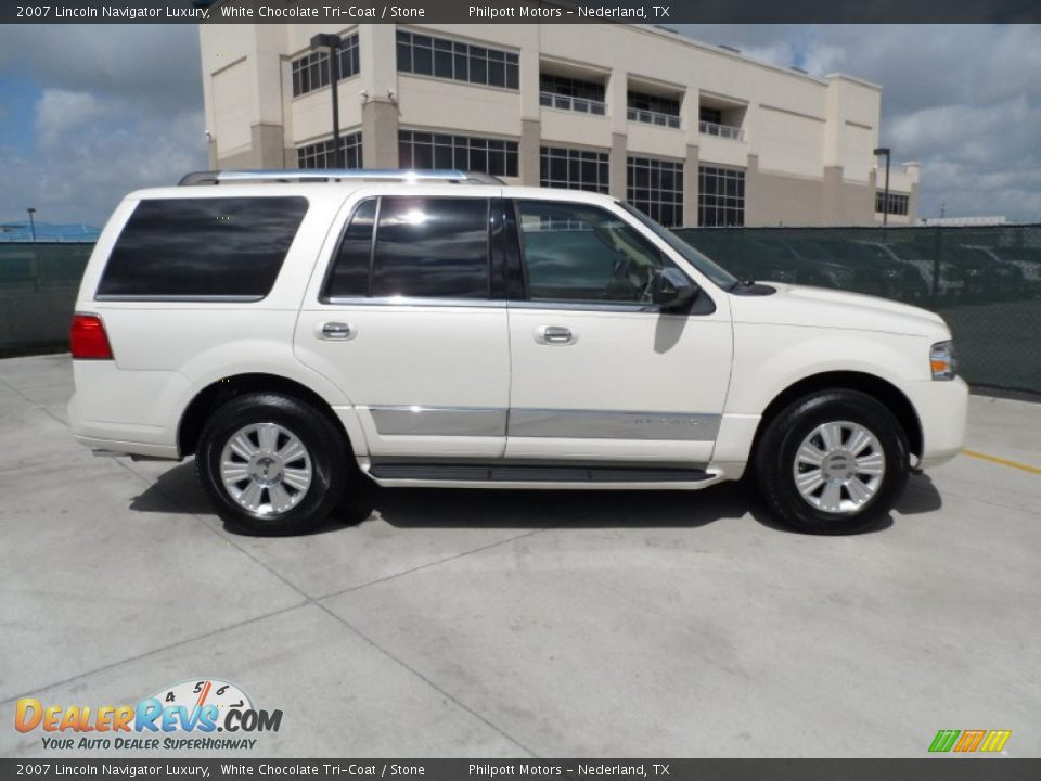 2007 lincoln navigator luxury white chocolate tri coat for State motors lincoln dealer manchester nh