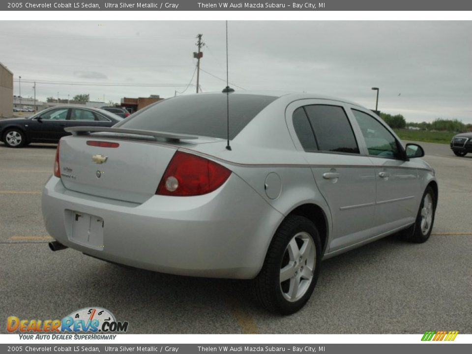 2005 chevrolet cobalt ls sedan ultra silver metallic. Black Bedroom Furniture Sets. Home Design Ideas