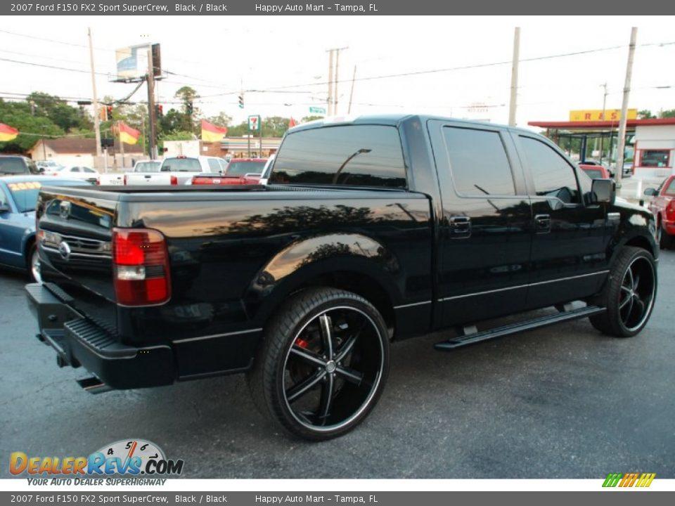 black 2007 ford f150 fx2 sport supercrew photo 5. Black Bedroom Furniture Sets. Home Design Ideas
