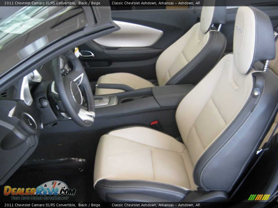 beige interior 2011 chevrolet camaro ss rs convertible. Black Bedroom Furniture Sets. Home Design Ideas