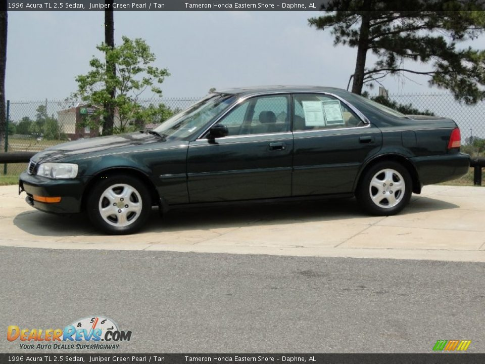 1996 acura tl 2 5 sedan juniper green pearl tan photo 9. Black Bedroom Furniture Sets. Home Design Ideas