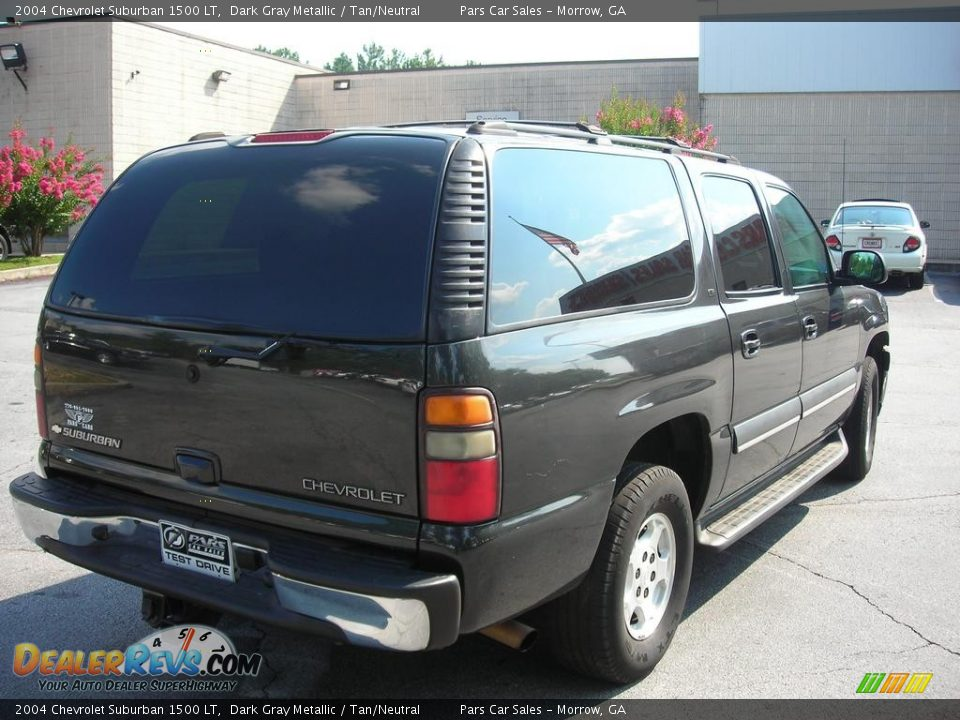 2004 chevrolet suburban 1500 lt dark gray metallic tan. Black Bedroom Furniture Sets. Home Design Ideas
