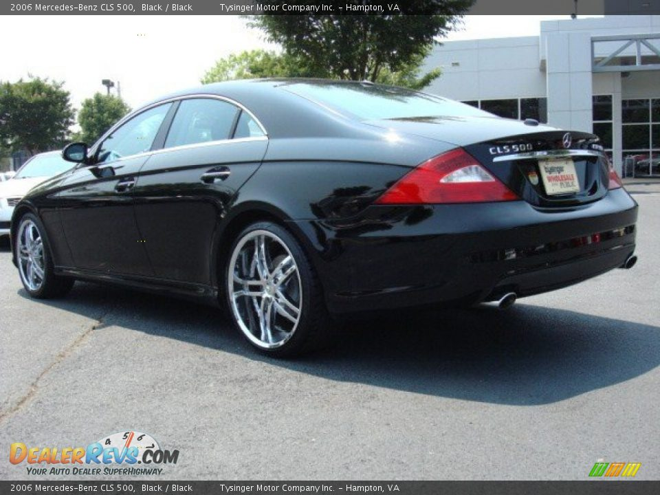 2006 mercedes benz cls 500 black black photo 4. Black Bedroom Furniture Sets. Home Design Ideas