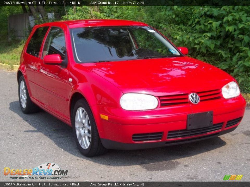 2003 Volkswagen Gti 1 8t Tornado Red Black Photo 4