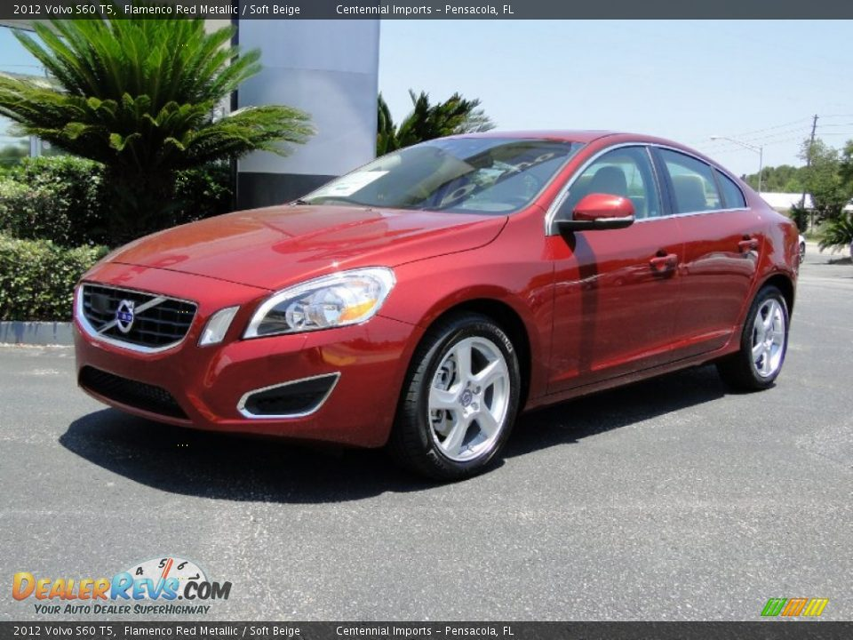 flamenco red metallic 2012 volvo s60 t5 photo 1. Black Bedroom Furniture Sets. Home Design Ideas