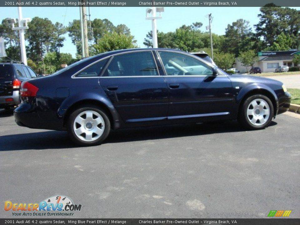 Ming Blue Pearl Effect 2001 Audi A6 4 2 Quattro Sedan