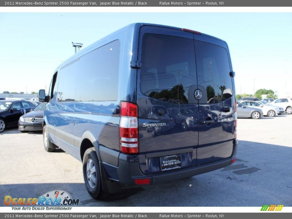 2011 mercedes benz sprinter 2500 passenger van jasper blue for 2011 mercedes benz sprinter 2500