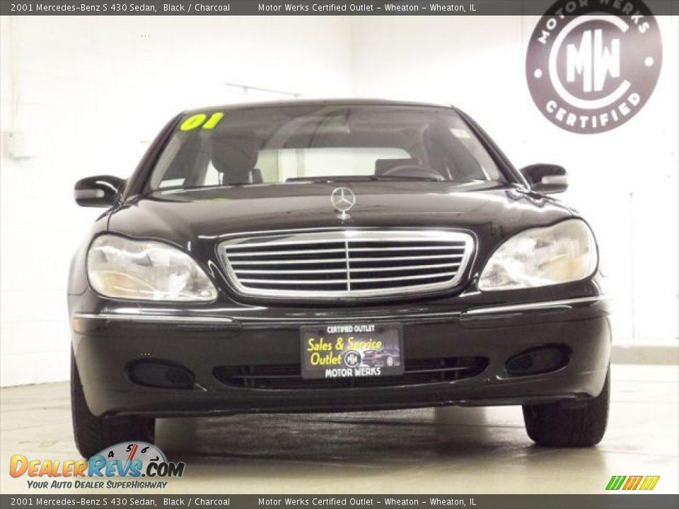 2001 mercedes benz s 430 sedan black charcoal photo 2 for Mercedes benz s 430