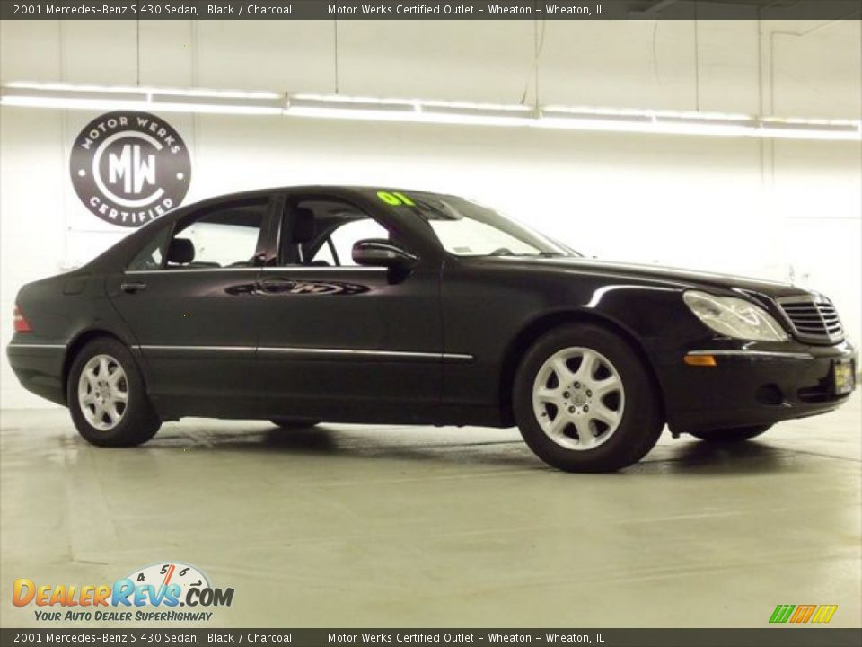2001 mercedes benz s 430 sedan black charcoal photo 3 for Mercedes benz s 430
