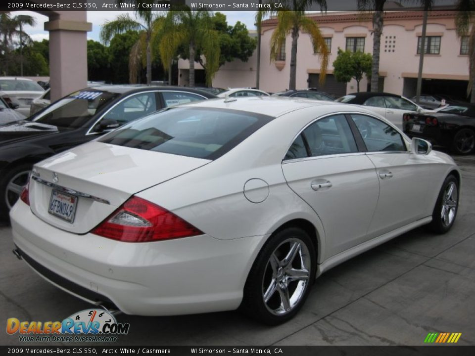 2009 mercedes benz cls 550 arctic white cashmere photo. Black Bedroom Furniture Sets. Home Design Ideas