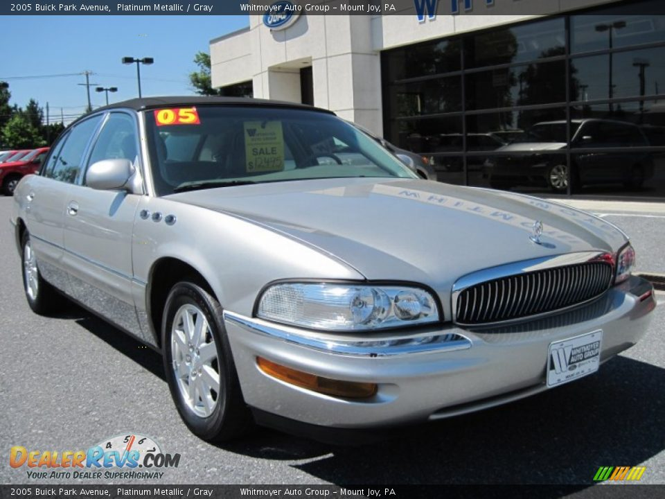 2005 Buick Park Avenue Platinum Metallic Gray Photo 2