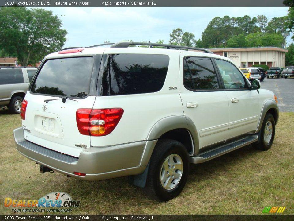 2003 Toyota Sequoia Sr5 Natural White Oak Photo 8