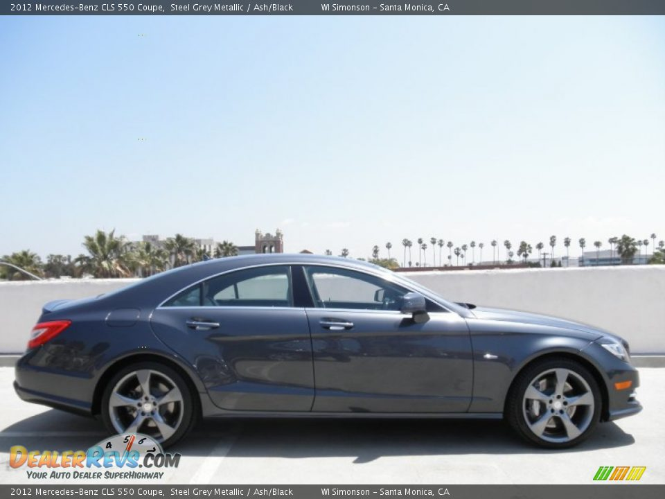 Steel grey metallic 2012 mercedes benz cls 550 coupe photo for 2012 mercedes benz cls