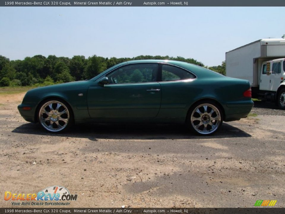 1998 mercedes benz clk 320 coupe mineral green metallic for 1998 mercedes benz clk 320