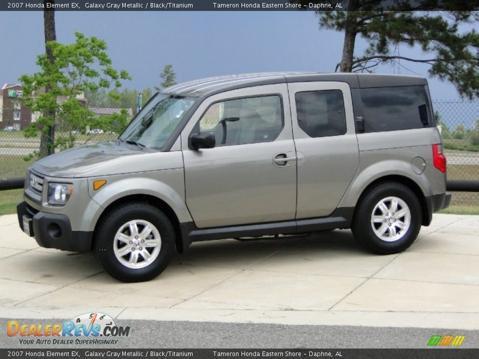 galaxy gray metallic 2007 honda element ex photo 8. Black Bedroom Furniture Sets. Home Design Ideas