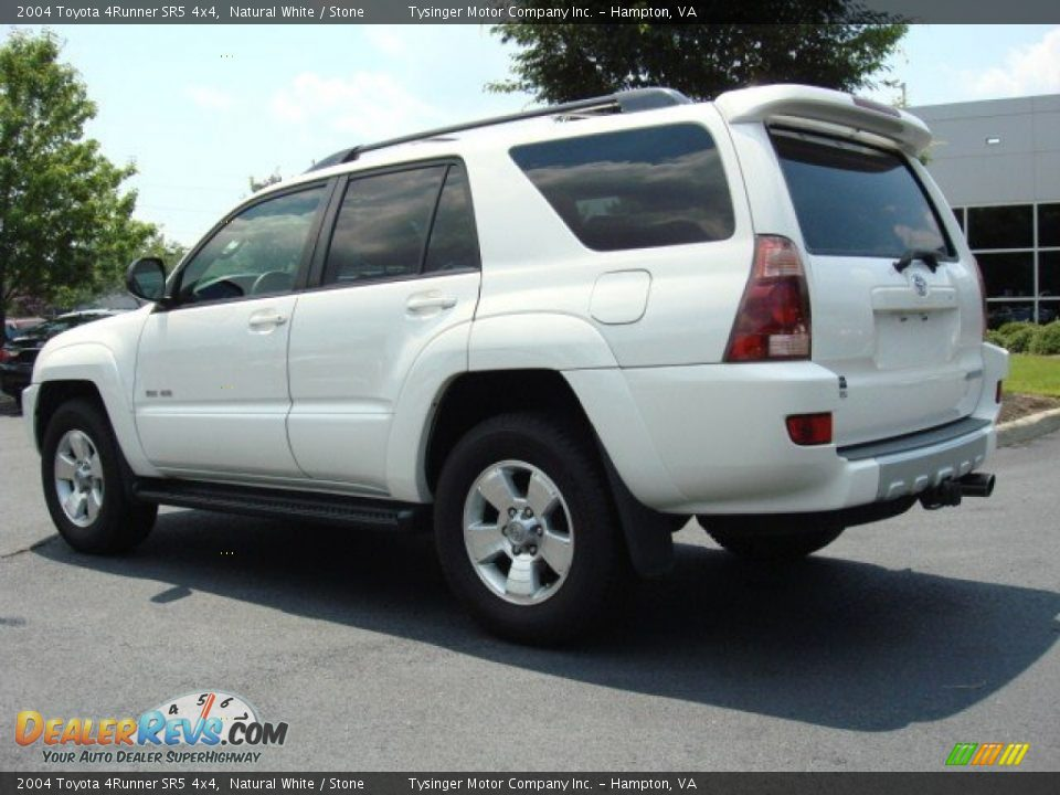 2004 toyota 4runner sr5 4x4 natural white stone photo 4. Black Bedroom Furniture Sets. Home Design Ideas